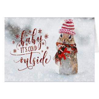 Christmas Holiday - Xmas Cutie Card