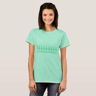 Christmas Holidays Ascii Art T-Shirt