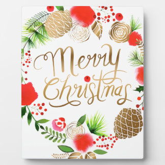 Christmas, Holidays, Decorations, Celebration Plaque