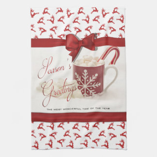 Christmas Holidys, Best Time of the Year Tea Towel