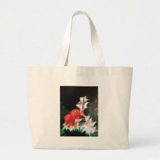 Christmas Holly Tote Bags