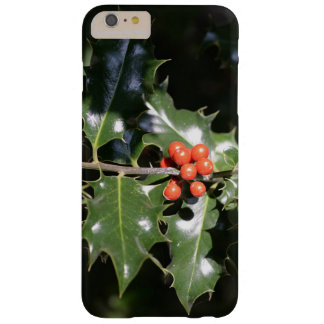 Christmas Holly Berries Barely There iPhone 6 Plus Case