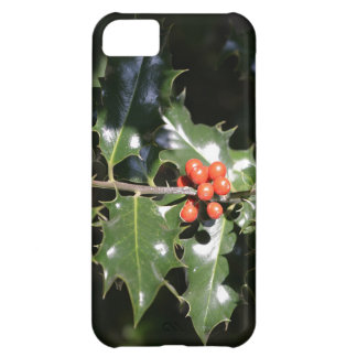 Christmas Holly Berries iPhone 5C Cases