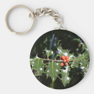 Christmas Holly Berries Key Chains