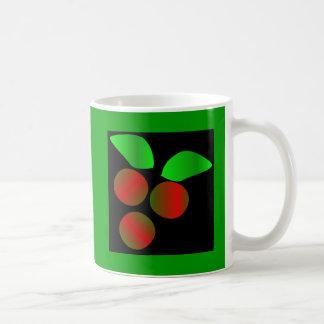 Christmas Holly I Classic White Coffee Mug