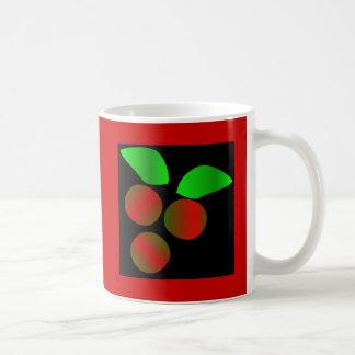 Christmas Holly II Classic White Coffee Mug