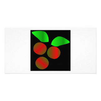 Christmas Holly III Picture Card