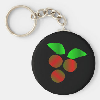 Christmas Holly Keychains