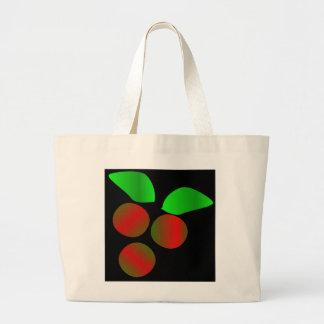 Christmas Holly Canvas Bag