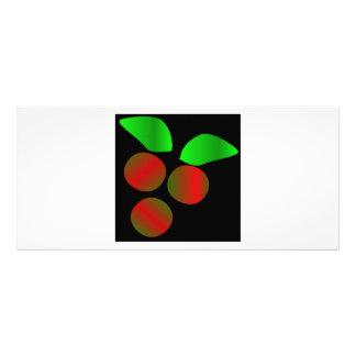 Christmas Holly VIII Rack Card Design
