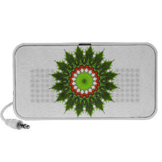 christmas holly wreath iPod speaker