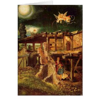 Christmas - Holy Night Greeting Card