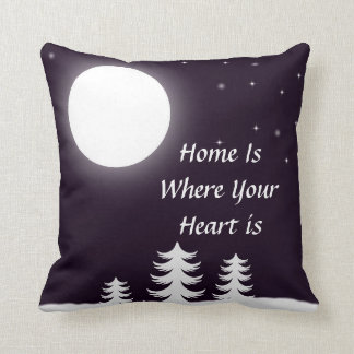 Christmas Home is where your heart is pillow Cushions
