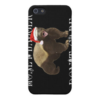 CHRISTMAS HONEY BADGER DON'T CARE COVER FOR iPhone 5