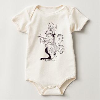 Christmas Horror Rat Baby Bodysuit