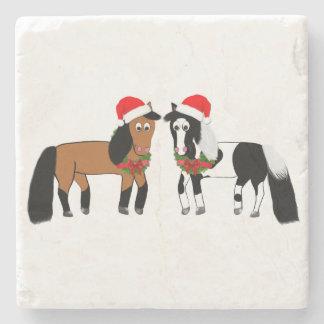 Christmas Horse Coasters