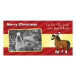 Christmas Horse Photo Card