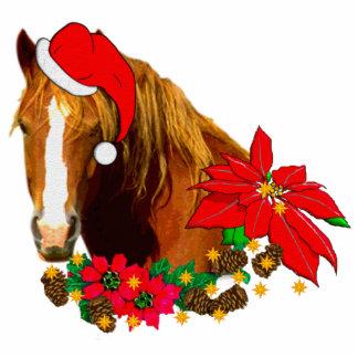 Christmas Horse Photo Cutouts