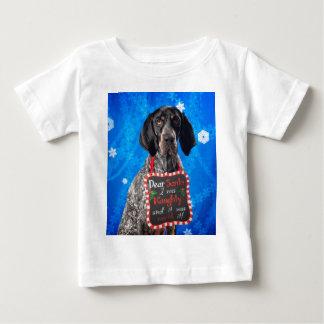 Christmas Hound Baby T-Shirt