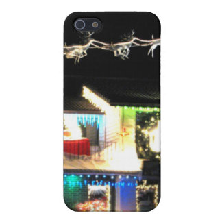 Christmas House iPhone 5 Case