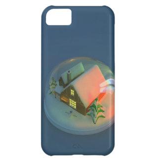 Christmas House snow globe iPhone 5C Case