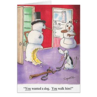 Christmas Humor Card