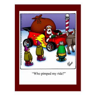 Christmas Humor Postcard