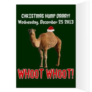 Christmas Hump Day Camel Christmas Card