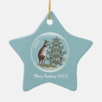 Christmas in Australia Ceramic Ornament