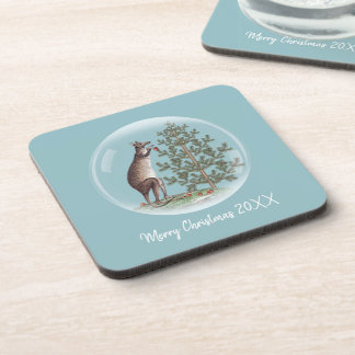 Christmas in Australia Coaster