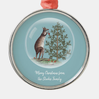 Christmas in Australia Metal Ornament