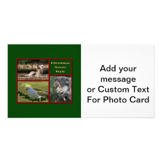 Christmas in Australia Picture Card