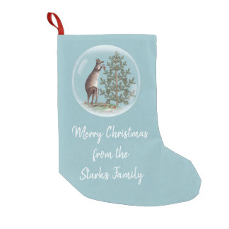 Christmas in Australia Small Christmas Stocking