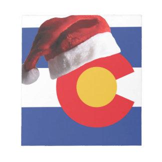 Christmas in Colorado Notepad