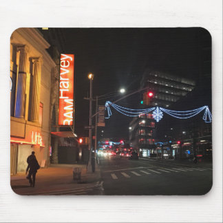 Christmas in Downtown Brooklyn New York Photograph Mouse Pad
