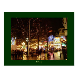 Christmas in Holland Postcard