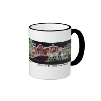 Christmas in Houston mug