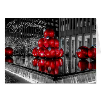 Christmas in New York City Holiday Card