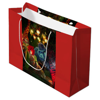 Christmas in New York Large Gift Bag