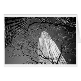 Christmas in New York - Rockefeller Center Greeting Card