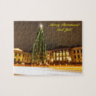Christmas in Oslo, Norway Jigsaw Puzzle