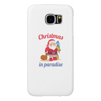 Christmas In Paradise Samsung Galaxy S6 Cases