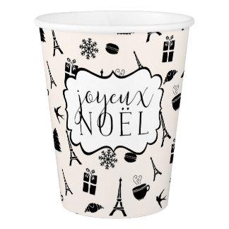 Christmas in Paris | Joyeux Noel Paper Cup
