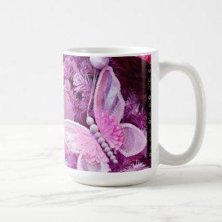 Christmas In pink And Purple Mug