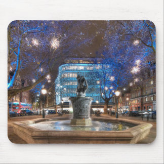 Christmas in Sloane Square Mouse Pad