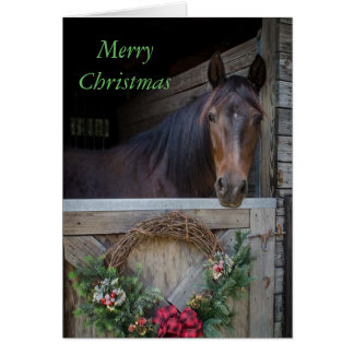 Christmas in the Barn Card