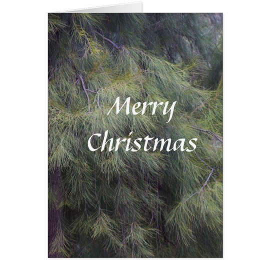 Christmas in the Pines Card