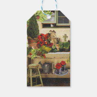 Christmas in the Potting Shed Gift Tags