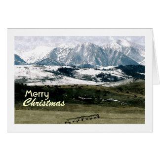 Christmas in the Rockies, Montana Card