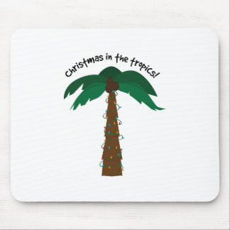 Christmas In The Tropics! Mouse Pads